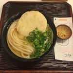うどん 丸香 - 丸天うどん(冷) ¥600-