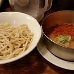 五十五番 - 辛辛つけ麺 並盛り890円