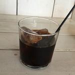 リロンデル - セットのアイスコーヒー
