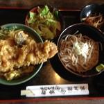 新井家 - 料理写真:穴子丼セット