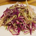 シャンウェイ - 豚ガツと香菜の冷菜