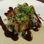 和食みやたけ - 料理写真:鶏の天ぷらソースマヨネーズ