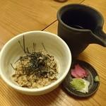 和楽 - 出し茶漬け 肉めし茶漬け
