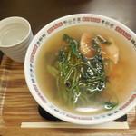 中華菠菜 - ポパイラーメン ¥750-