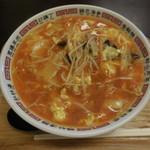 中華菠菜 - ダァールー麺 ¥750-