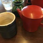 むらげ - 蕎麦湯