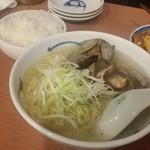 駅前食堂 だいこっく - 「豊スタセット (1000円)」の「あさりネギラーメン(レギュラー)」
