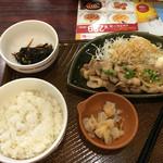 ガスト - 料理写真:豚の生姜焼き