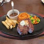 カタヤマ - 160gのステーキ定食