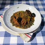 Sala Degustazione - イイダコとレンズ豆のトマト煮