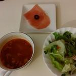 ツバサ食堂 - 前菜、サラダ、スープ