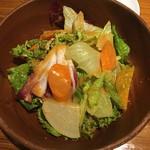 舎人庵 - 高原野菜サラダ