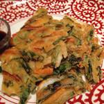 大阪産(もん)料理 空 - 海鮮チヂミ