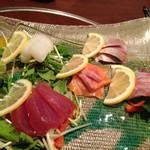 大阪産(もん)料理 空 - お造り盛り合せ