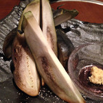 大阪産(もん)料理 空 - 水なすの浅漬け
