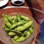 大阪産(もん)料理 空 - 八尾の枝豆