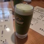 夕晩屋 - ドリンク写真:で、これが問題の津野山ビール。