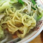 54895868 - レディースセット(税込800円)                       タンメン。                       麺は私の好きなちぢれ麺。