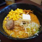 北海道チューボー - バターコーンラーメン