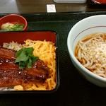 なか卯 - 料理写真:「うな重&はいからうどん」セット