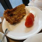 サイドトリップ - キメの粗いシフォンケーキ
