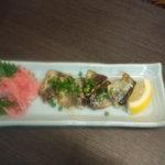 ハイタニ - さんまバター醤油焼き(\380)