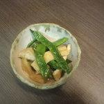 ハイタニ - なた豆煮(\280)