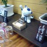 たこ焼き たこ重 - お孫さんからの開店祝い(招き猫)