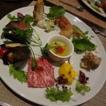 54900593 - ディナー 前菜