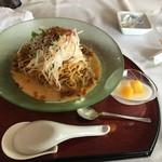 那須ちふり湖カントリークラブレストラン - 四川風ピリ辛冷やし担々麺