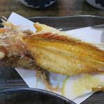 福浦漁港 みなと食堂 - カサゴから揚げ