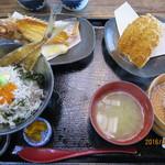 福浦漁港 みなと食堂 - 特得定食