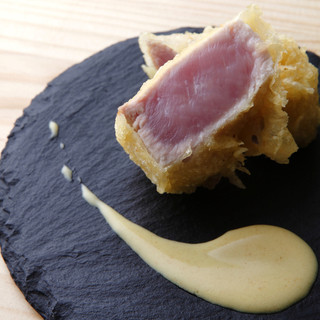 肉天などの創作天ぷらとビストロメニューもございます。