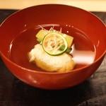 汐見 - 蕎麦がき椀