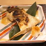 汐見 - 鱸のカマの塩焼き