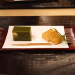 汐見 - 笹ほたる と 自家製わらび餅
