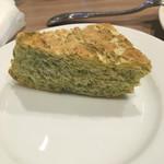 レストラン マルヤマ - 自家製パン:青のり