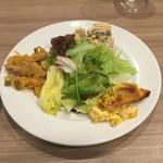 レストラン マルヤマ - ランチの前菜