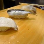 吾妻寿司 - ゲソ、ままかり、タコ