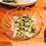 串天ぷら 段々屋 - おつまみメンマ