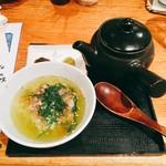 串天ぷら 段々屋 - 酒盗(カツオ塩辛)のお茶漬