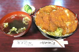 よしのや食堂 - 201608 ソースカツ丼 900円