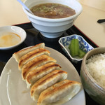 高橋餃子店 - A定食をいただきました。