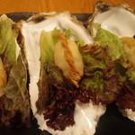 牡蠣と帆立の揚げ餃子