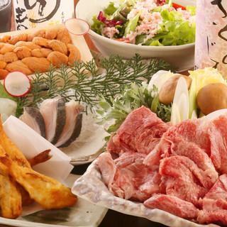 【全国の名物食材・料理】飲み放題付コースは3,500円~