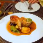 グランジュテ - 若鶏の詰め物のおいしいやつ