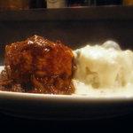 マリオの台所 - ランチで人気のきのこクリーム&ハヤシライス