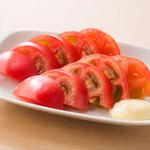 やきとりセンター - 冷やしトマト