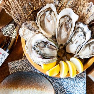 【最高品質の生牡蠣♪】冬は、濃厚牡蠣の柚しゃぶやります◎