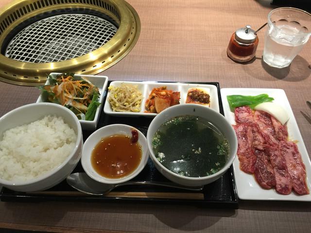 焼肉 福々 - 焼肉カルビ定食 1480円 ランチ